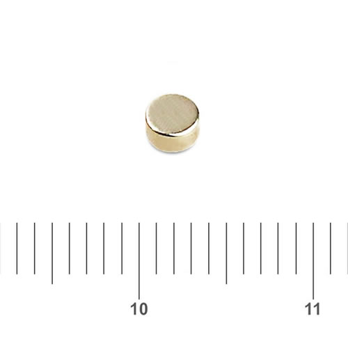 2mm x 1mm Tiny Disk Magnet Neo N35 Ni