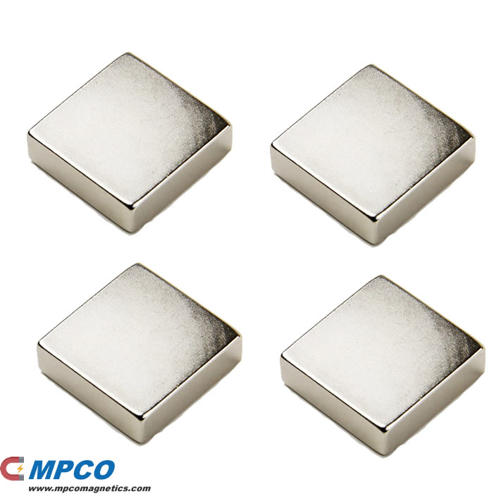 40 X 40 X 10mm Square Ndfeb Amazing Magnet N40 Ni