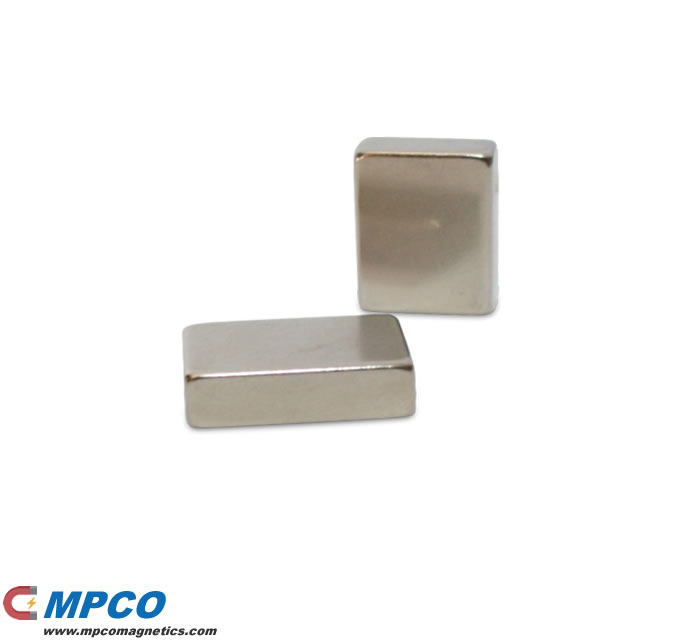 17 X 12 X 5mm Block Magnetized Neodymium Magnet N40 Ni