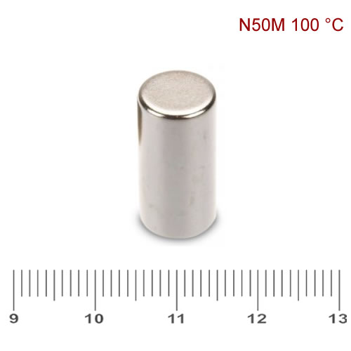 10 x 20mm Permanent Neo Cylinder Magnet N50M Ni
