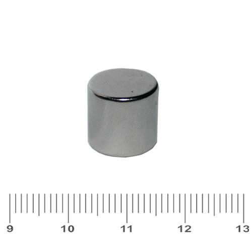 12 x 12mm Rare Earth Craft Magnet Cylinder N42 Ni