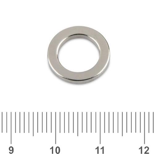 15 X 10 X 2mm Powerful Amazing Magnet Neo Ring N48 Ni