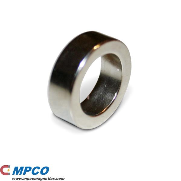 19 X 13 X 6mm Super Strong Neodymium Ring N42 Ni Magnets
