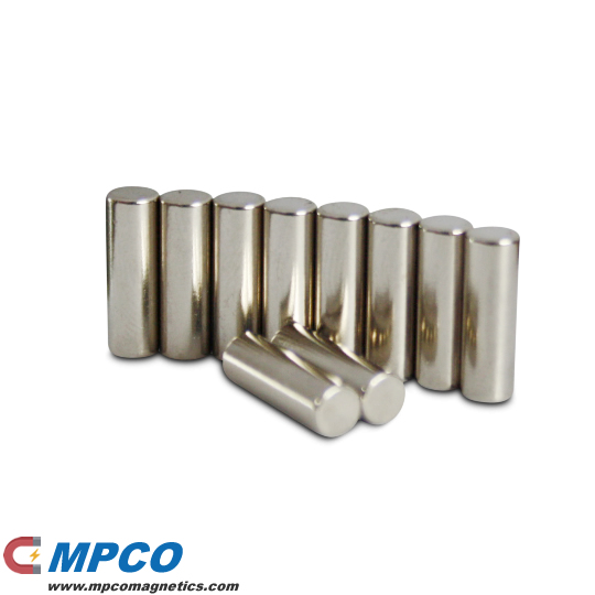 4 X Amazing Rod Magnet Ndfeb N42 Ni Magnets