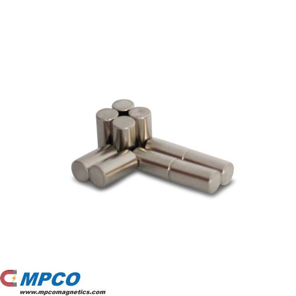 5 X 10mm Licensed Nib Magnet Cylindrical N50 Ni Magnets