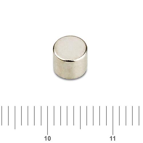5 x 5mm NdFeB Neo Cylindrical Magnet N45 Ni