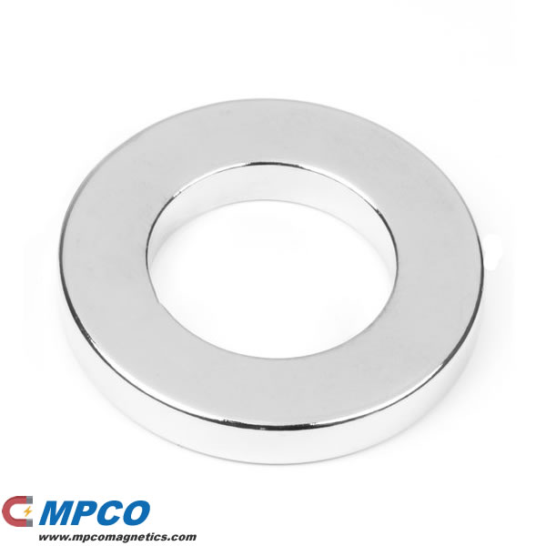 42 X 24 X 6mm Rare Earth Speaker Magnet Ring N38 Ni