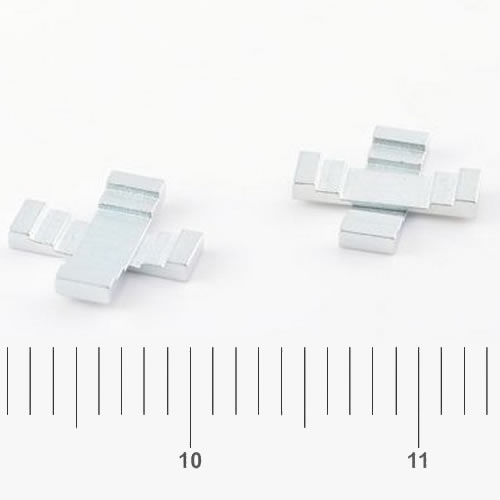 Neodymium Special Magnet Znic Coated
