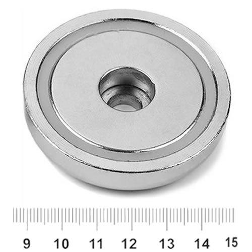 Cylindrical Hole Pot Magnet