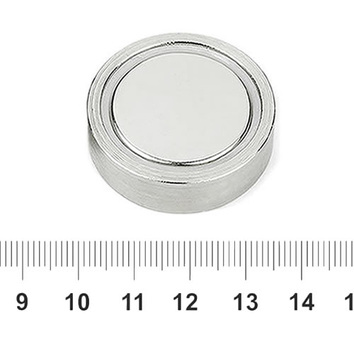 Sintered Neodymium Pot Magnet 34mm