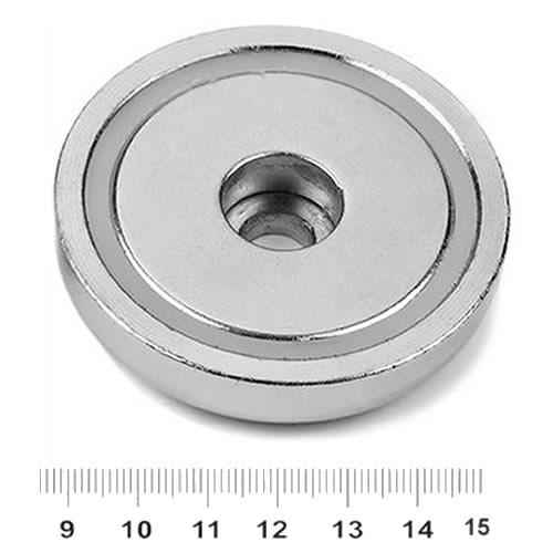 Through Hole NdFeB Pot Magnet