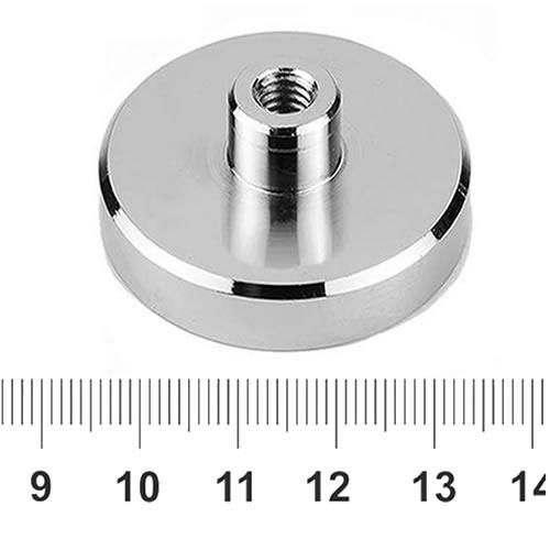 Neodymium Shallow Pot Magnets