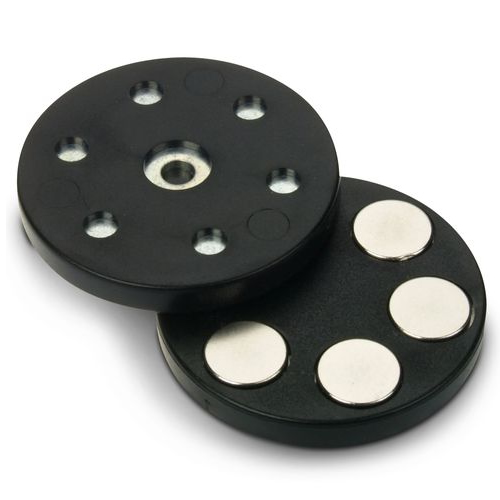 Plastic Rubber Coated Mounting Magnet