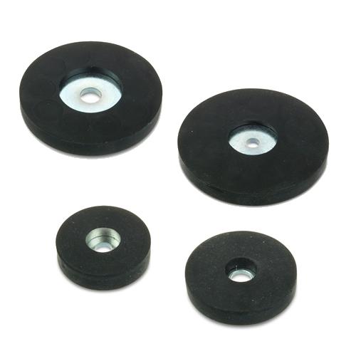 Rubber Coated Neodymium Magnet