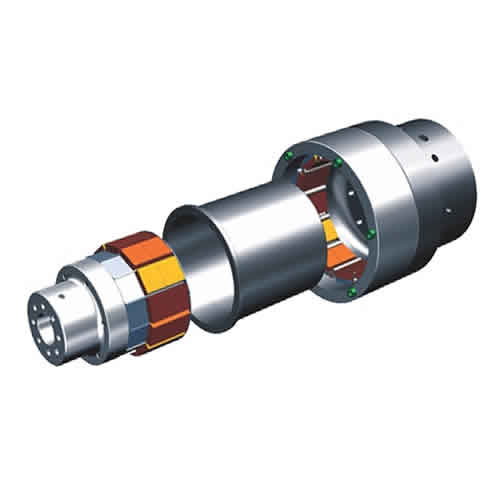 Face-to-Face Torque Magnetic Coupling