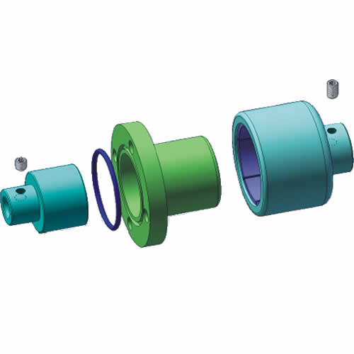 Unthreaded Hole Type Magnetic Pump Coupling