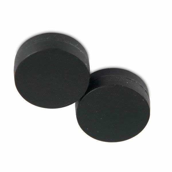 22mm x 6mm Polypropylen Covered NdFeB Magnet