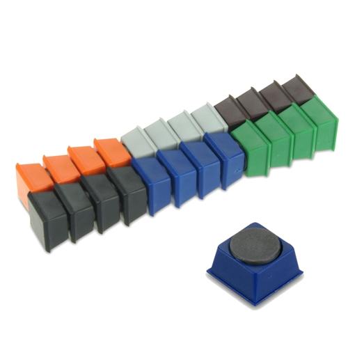 Coloured Promotional Magnets Ceramic Disc
