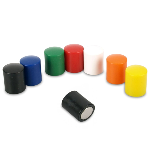Plastic Covered Whiteboard Pin Magnets