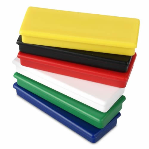 Plastic Rectangular NdFeB Write Board Magnets