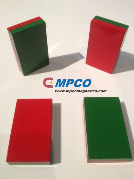 Red-Green Bar Magnets
