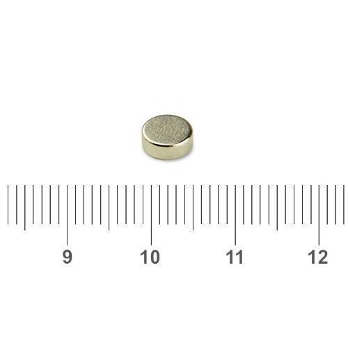 Precision Magnetic Sensor Permanent Magnet N35 D6 x 2mm