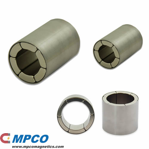 Radial Ring Neodymium Assembly Supplier - Magnets - MPCO Magnetics