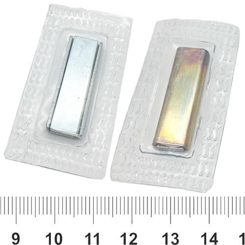 Rectangular Sewing Magnet Button