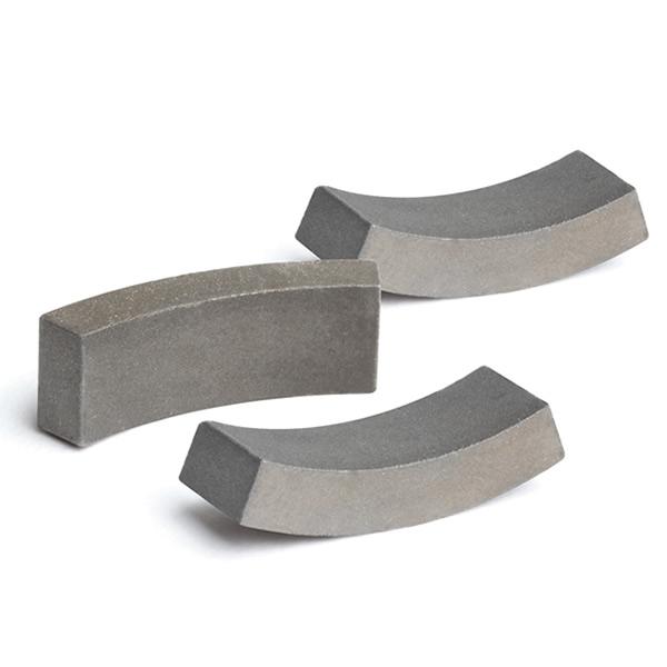 High Resistivity Arc Samarium Magnets