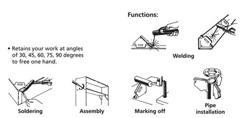 Functions of Welding Angle Soldering Magnet