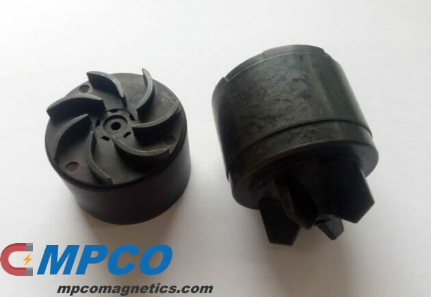 Radial multipole rotor magnet