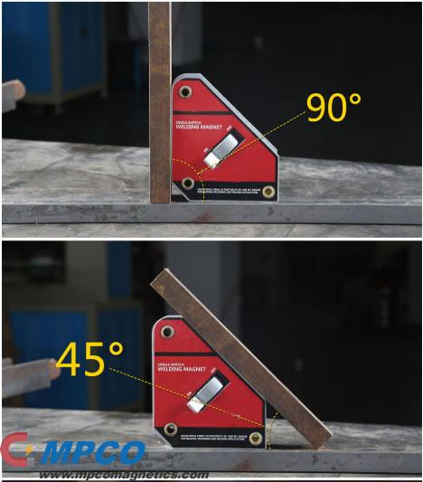 Single Switch Magnetic Welding Positioner Holder
