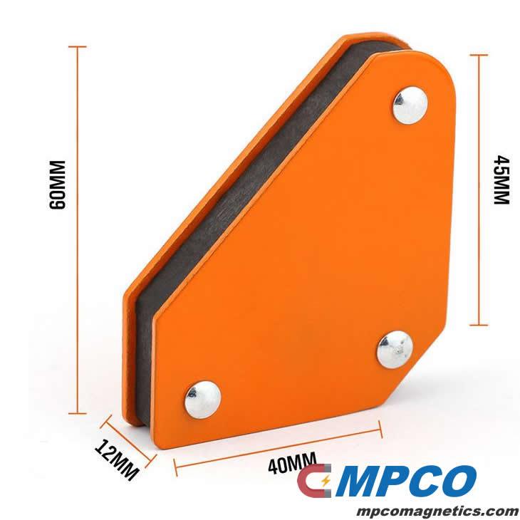 welding magnet size