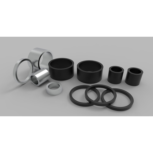 Radially Oriented NdFeB Ring Magnets