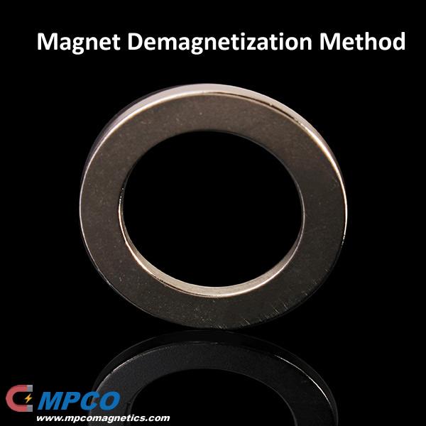 Magnet Demagnetization Method