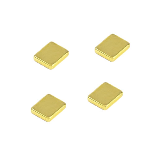 FDA Medical Used Titanium Nitride Plating Magnets NdFeB Blcok