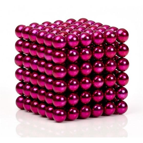 216pcs Dia 5mm Pink Magnetic Buckyballs NdFeB Neocube