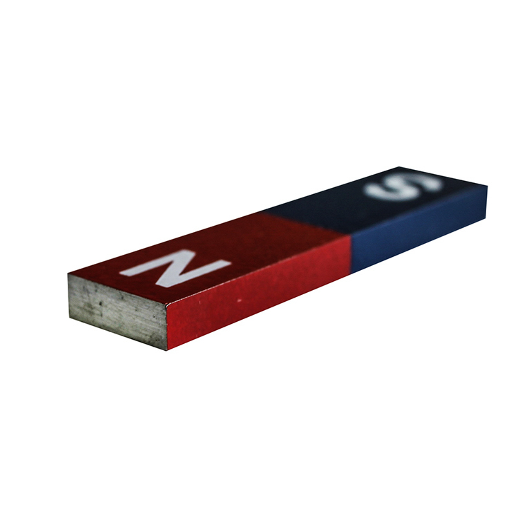 Educational Block Alnico Magnet 60mm x 15mm x 5mm
