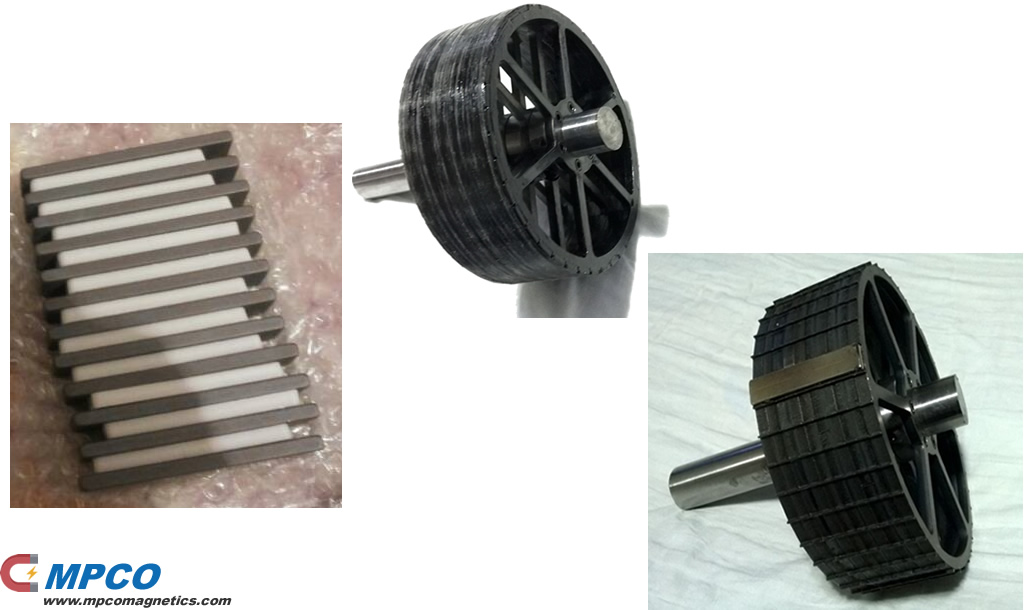 How to Choose the Bushless Motor Magnets and Rotor