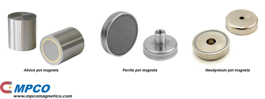 Pot Magnet Assemblies