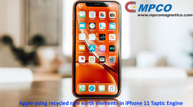 Apple using recycled rare earth elements in iPhone 11 Taptic Engine