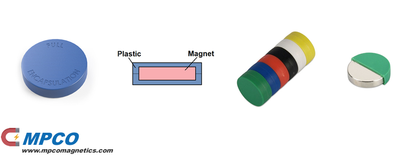 Over molding Plastic integrated magnet