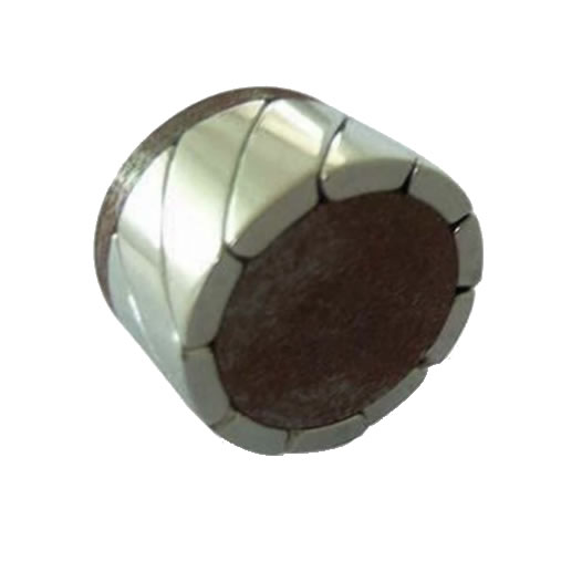 N42H N45H N48H N50H Neodymium Sector Magnets for Hub Motor