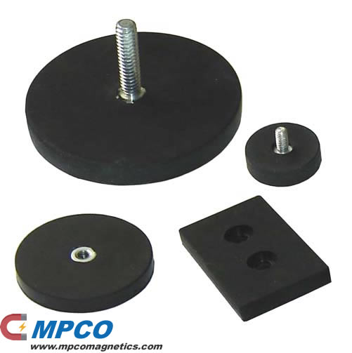 Indestructible Rubber Coated Magnets