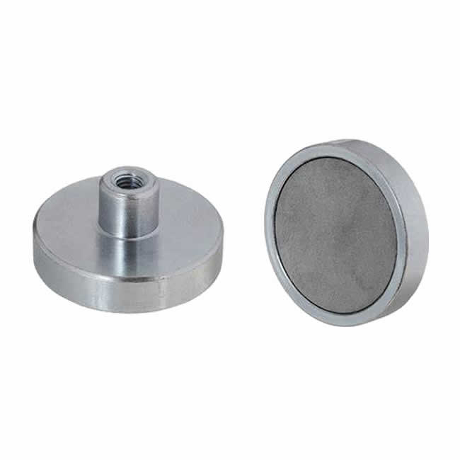 Internal Thread SmCo Cup Magnets