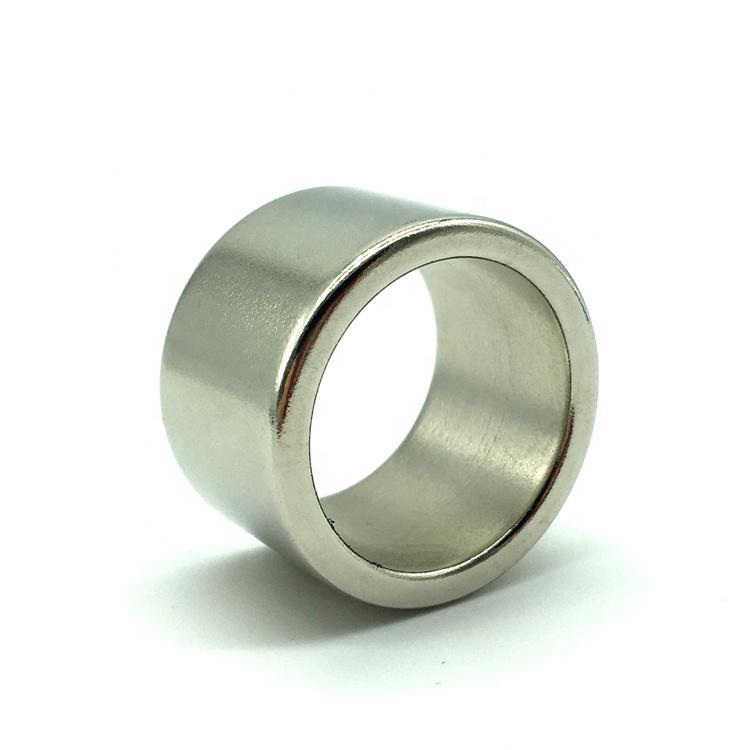 N38H Permanent Neodymium Ring Radial Magnetization Magnet