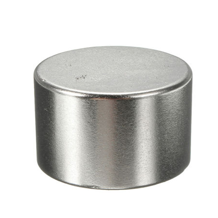 N42 Round Disc Neodymium Anistropic Magnet for Russia Customer