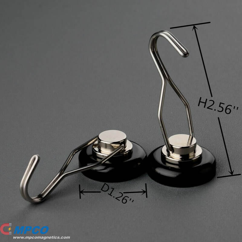 D32mm Neodymium Magnetic Swing Hooks