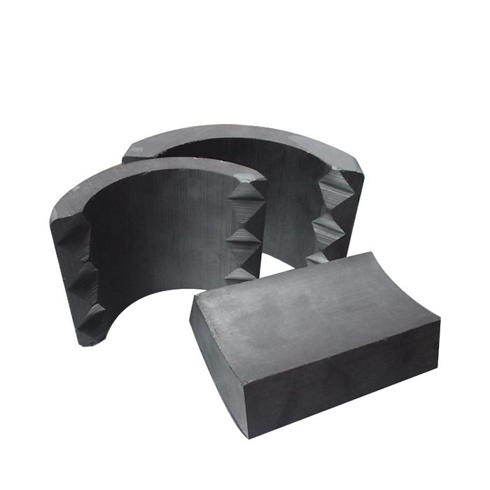 Excellent Professional Custom Size Ferrite Arc Magnets for Motors