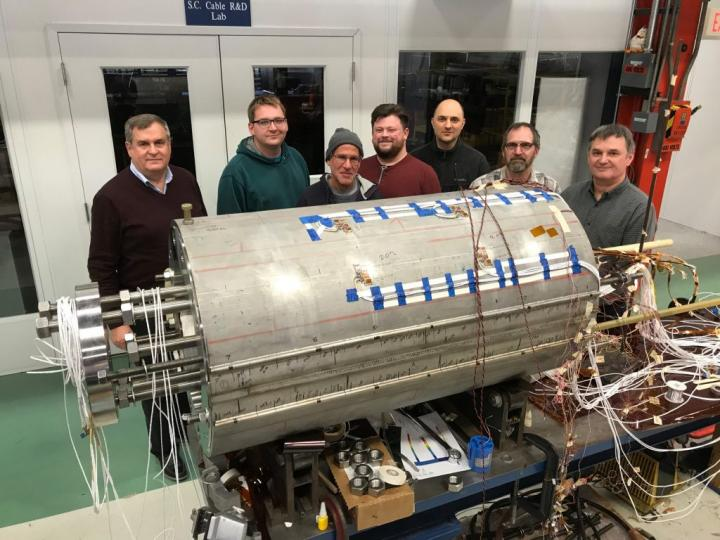 world-record field strength for accelerator magnet